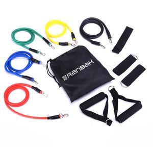 Kit 5 Bandas de Entrenamiento Ranbak 733 Fitness Latex