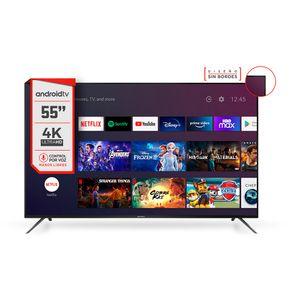 """Smart TV 55"""" 4K UHD Hitachi CDH-LE554KSMART22"""