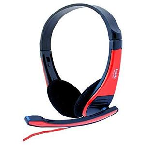 Auriculares Para PC Havit 2105 D WIRED HEADPHONE Negro y Rojo