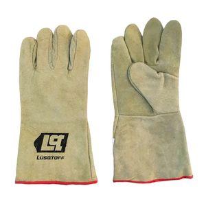 Guantes de trabajo soldador para soldar Lusqtoff LGSOL-8