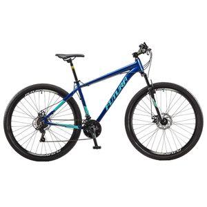 Bicicleta Mountain Bike Rodado 29 Cuadro Aluminio Futura Mantis Azul