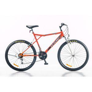 """Bicicleta Mountain Bike Rodado 26"""" Futura Techno Naranja"""