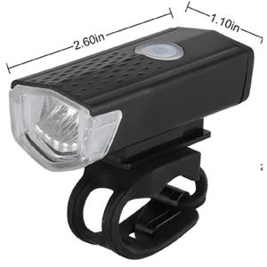 Luz Delantera para Bicicleta Recargable USB 3 Modos Daikon Negra  BM0604-007