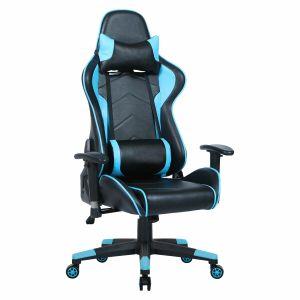 Silla Gamer Microbell Y-2669B Negra y Azul