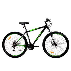 "Bicicleta Mountain Bike Rodado 29"" Motomel Negra/Verde"