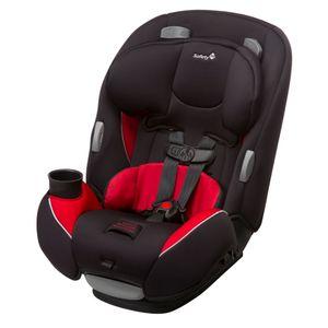 Butaca Safety 1ST Continuum Negro y Rojo