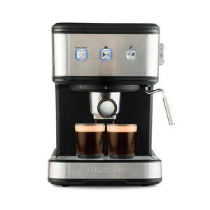 Cafetera Expresso 2 en 1 Smartlife SL-EC8501