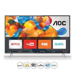 """Smart TV UHD 4K 50"""" AOC 50U6295/77G"""