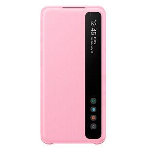 Funda Samsung Galaxy S20 Smart Clear View Cover Rosa