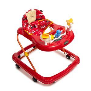 Andador Musical Para Bebes con Alturas Love 726 Rojo