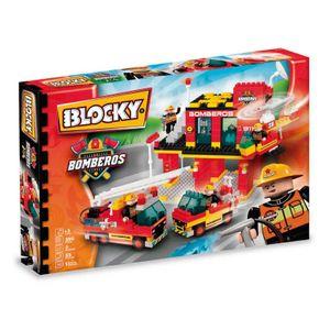 Bloques de Construccion Blocky BOMBEROS 3 290 piezas