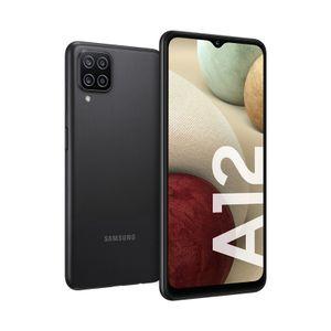 Samsung Galaxy A12 128 GB negro 4 GB RAM + Memoria Kingston 32GB
