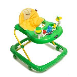 Andador Musical Para Bebes con Alturas Love 726 Verde