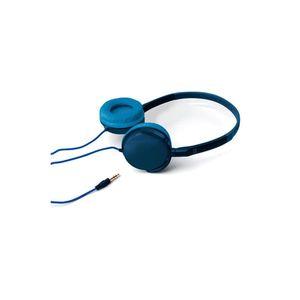 Auricular Vincha One For All SV5335 Confort Azul Acero