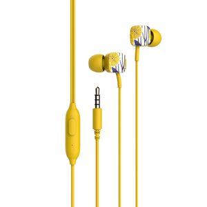 Auriculares iIn Ear con Cable 3.5 mm Havit HV E58P Amarillo