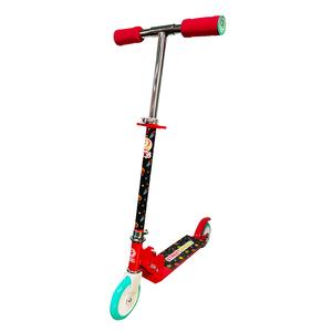 Monopatin Infantil de aluminio y acero 2 ruedas Rojo