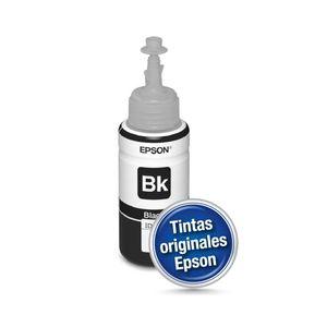 Botella de Tinta Negra Epson T664 70ML