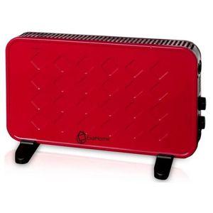 Calefactor Convector con Termostato Exahome Rojo
