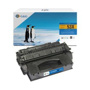 Cartucho de Toner Alternativo HP 53X NT-CH7553X Alto Rendimiento Negro