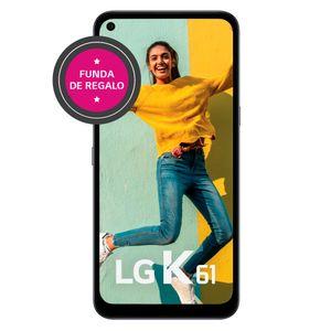 Celular LG K61 128 GB Gris