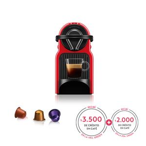 Cafetera Nespresso Inissia Red