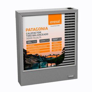 Calefactor a Gas Tiro Balanceado Emege Patagonia 9030 TBU 3000 kcal/h