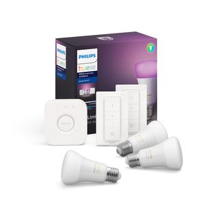 Kit de Inicio Philips Hue White And Color Ambience + 2 Switch
