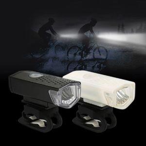 Luz Delantera para Bicicleta Recargable USB 3 Modos Daikon Blanca BM0604-00701