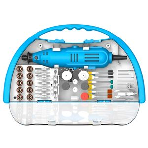 Mini Torno Gamma y Kit de Accesorios 119 Piezas