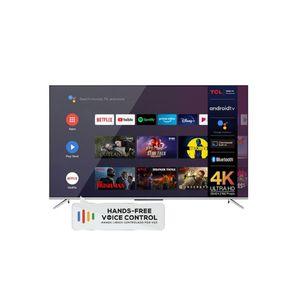 Televisor Smart 55 Pulgadas TCL UHD Android L55P7 Gris