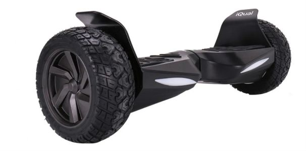 Patineta Electrica Hoverboard Iqual Hbr12 Todo Terreno Leds