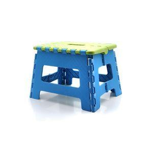 Banquito plegable  transportable y multiuso Baby Innovation Step Plegable Azul