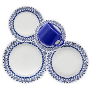 Juego de Vajilla 30 Piezas Biona by Oxford Ceramica GRECIA 0112415630