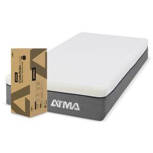 Colchon de Espuma Atma Smooth Top 1 Plaza CHMFST80X190