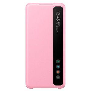 Funda Samsung Smart Clear View para Galaxy S20+ Rosa