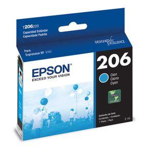 Cartucho de Tinta Epson T206220-AL Cyan