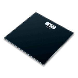 Balanza De Vidrio Para Baño Beurer Gs-10 negra