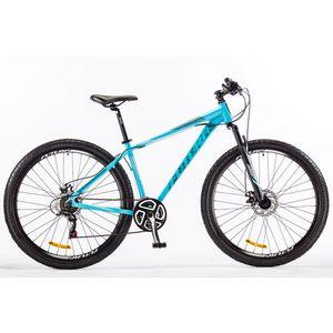 """Bicicleta Futura MTB Pantera 21 Velocidades Rodado 29"""" Celeste/Cambio Shimano"""