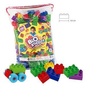 Bloques de Construccion Grandes Blokoco JARDIN 200 piezas