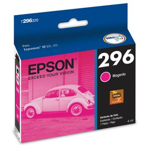 Cartucho de tinta Epson 296 Magenta