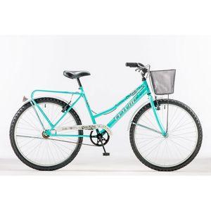 Bicicleta Paseo Futura Dama Agua Marina R26