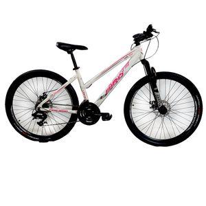 "Bicicleta Mountan Bike Rodado 27,5"" Cuadro Aluminio Fire Bird Blanco"