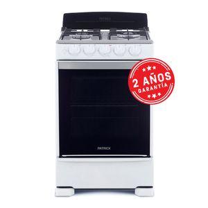 Cocina Patrick Multigas CP6855AB 55cm Blanco