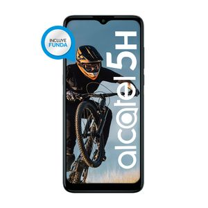 Celular Alcatel 5H 128 GB Negro