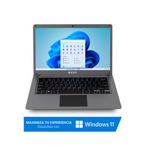 "Notebook Exo 14,1"" Celeron 4GB 256GB SSD P46PLUS"