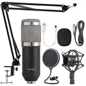 Microfono Condenser High Electric BM800KIT Negro