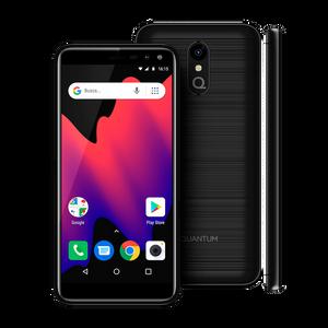 Celular Quantum UP 16 GB Negro