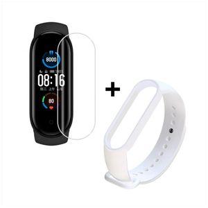 Smartwatch Xiaomi Mi Band 5 más Pulsera Blanca De Regalo