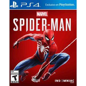 Juego PS4 Insomniac Spider-Man