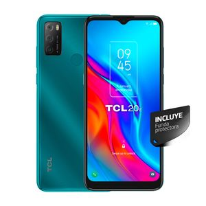 Celular TCL 20E 128 GB Verde